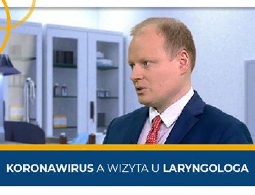 """Prof.Piotr H. Skarżyński wkolejnych odcinkach programu """"Poradnik. Koronawirus"""""""