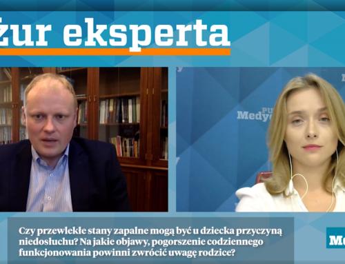 Prof.Piotr H. Skarżyński ochorobach laryngologicznych udzieci