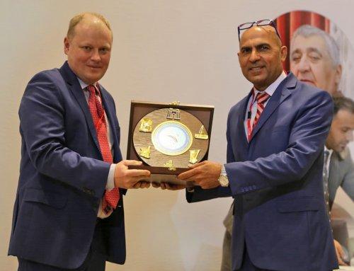 Prestiżowe wyróżnienie dla prof.Piotra H. Skarżyńskiego odprzedstawicieli irackiego środowiska naukowego